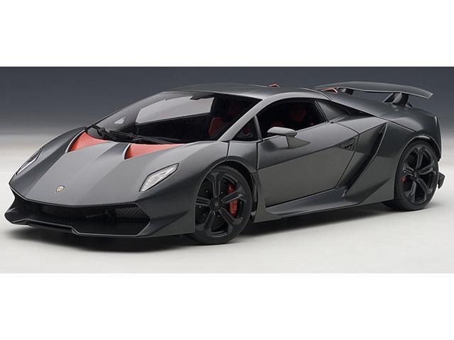 Autoart 74671 1 18 Lamborghini Sesto Elemento Grey Carbon Fiber