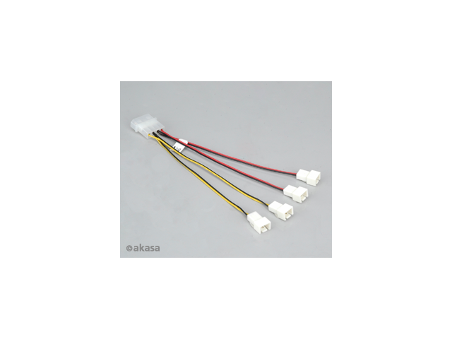 """CablesOnline PC-018 14/"""" Molex 4-Pin to P4 Xeon Motherboard 8-Pin Power Adapter"""