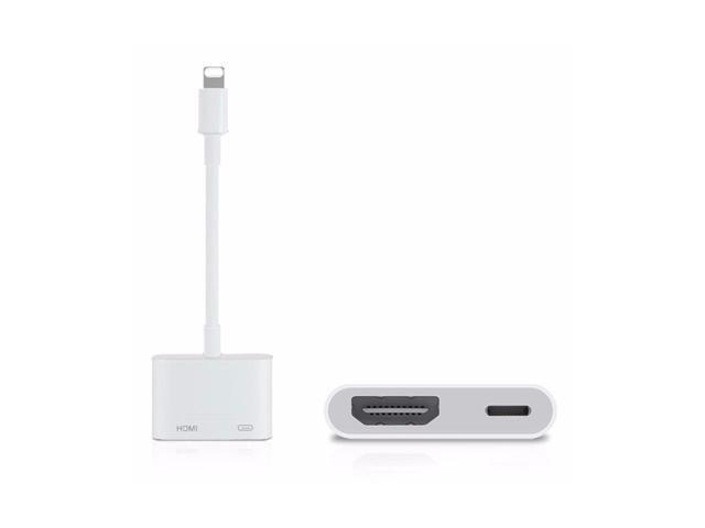 e198c5922fe 8PIN Lightning to AV HDMI/HDTV TV Cable Adapter For iphone 5s 6 6S 7