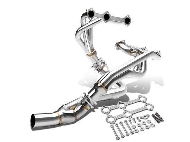 for 93 95 chevy camaro pontiac firebird 3 4l v6 2 pc 6 2 1 stainless Chevy 4.3 V6 Camshaft for 93 95 chevy camaro pontiac firebird 3 4l v6 2 pc 6 2 1 stainless steel exhaust header manifold y pipe