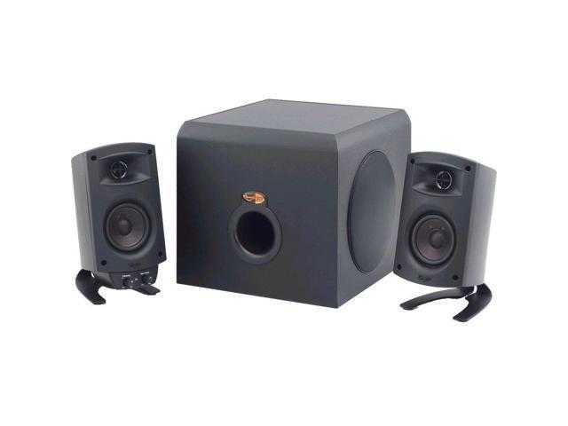 Klipsch ProMedia 2 1 THX Certified Speaker System w/ Bluetooth Audio  Adapter - Newegg com