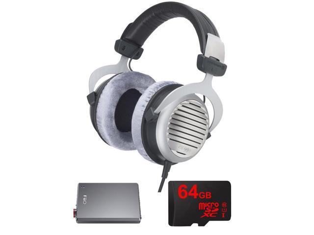BeyerDynamic DT 990 Premium Headphones 32 OHM w/ FiiO A5 Amplifier Bundle