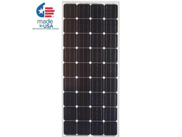 Solar Pv Systems Backup Power Ups Systems: GRAPE SOLAR 180-Watt Monocrystalline PV Solar Panel For
