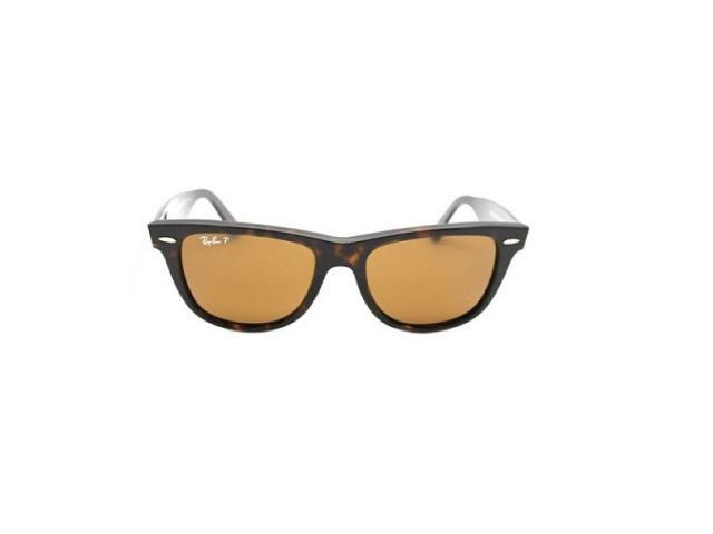 ead1cbdd75 NEW RAY BAN WAYFARER RB 2140 902 57 TORTOISE FRAME POLARIZED BROWN LENSES