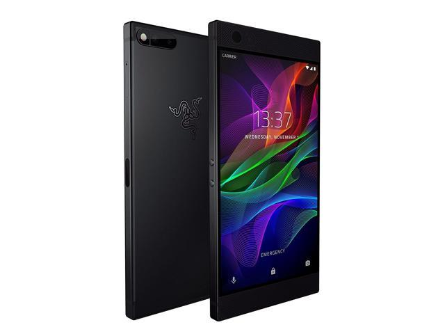 Razer Phone - Unlocked, 120 Hz Ultra Motion Display, Dual Camera, Dual Front-Facing Speakers, Gaming Phone (5.7