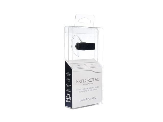 Plantronics Explorer 50 Mobile Bluetooth Headset Black