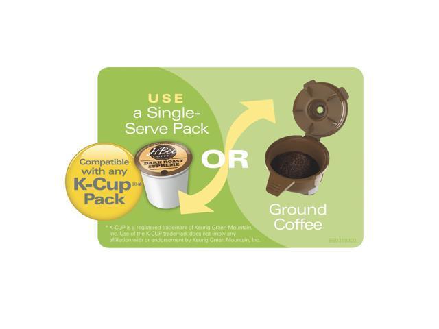 Hamilton Beach 49974 Flexbrew Single Serve Coffee Maker Black