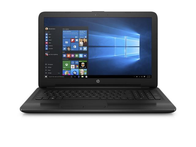 "HP Notebook 15.6"" HD Vibrant Display Laptop - AMD Quad Core E2-7110 Processor (1.8GHz), 4GB Memory, 500GB Hard Drive, DVD+/-RW Optical Drive, DTS Studio Sound, Windows 10"