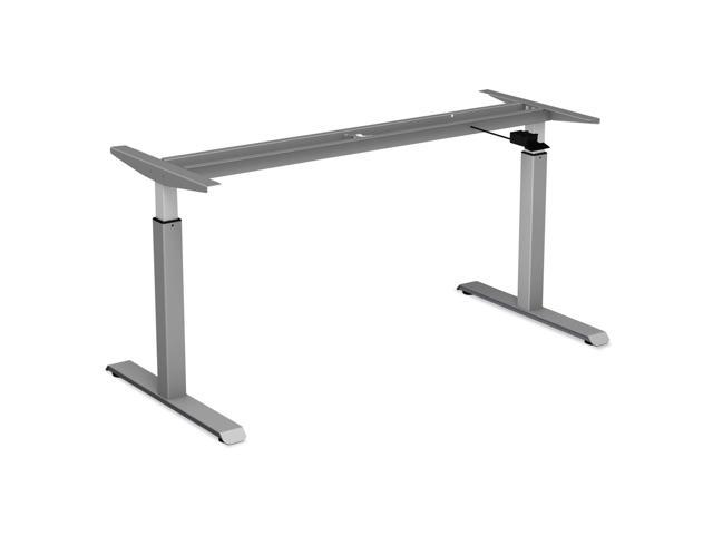 Pneumatic Height Adjustable Table Base, 26 1/4