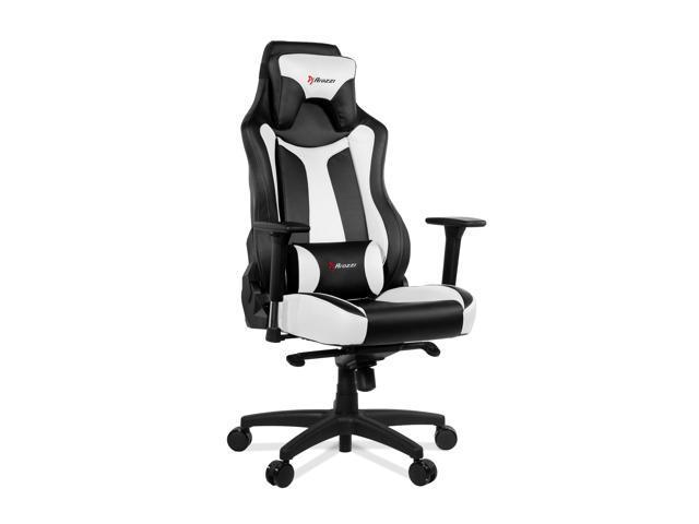 Pleasant Arozzi Vernazza Series Super Premium Gaming Chair White Newegg Com Inzonedesignstudio Interior Chair Design Inzonedesignstudiocom