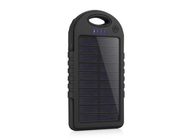 free shipping 70cf6 8abdf axGear Portable Solar Charger Power Bank USB External Outdoor Waterproof  Battery Pack 5000mAh - Newegg.ca