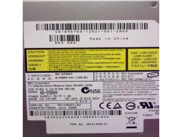 NEC ND-6500A DVD-RW DRIVERS UPDATE
