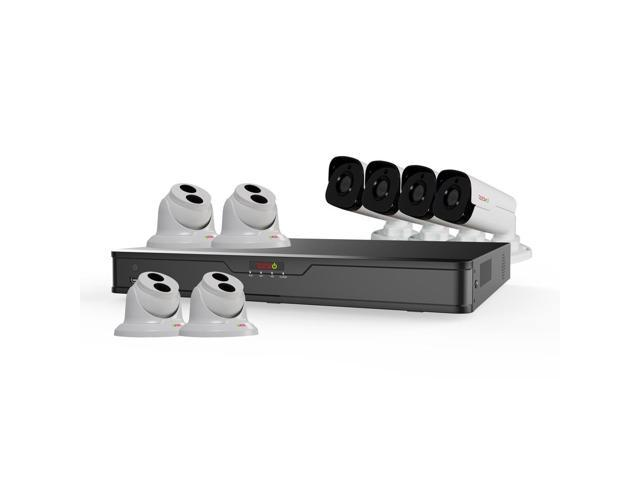 Revo America RU162T4GB4G-3T Ultra HD 16 Channel 3TB NVR Surveillance System with 8 x 4 Megapixel Cameras