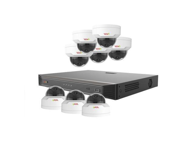 Revo America RU162MD8G-3T Ultra HD 16 Channel 3TB NVR Surveillance System with 8 x 4 Megapixel Cameras