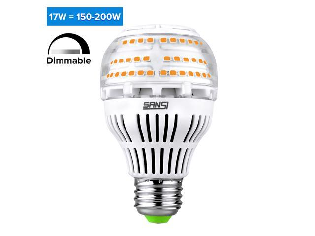 [UPGRADE] 17W (150-200 Watt Equivalent) A19 Dimmable LED ...