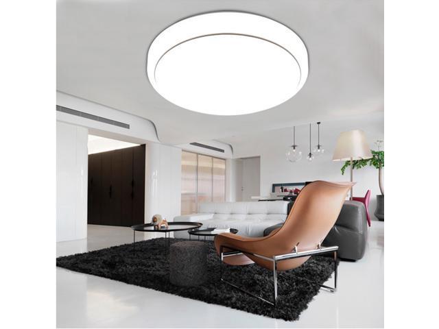 18w Round Led Ceiling Light 7000k 1600 Lumens Bright Flush Mount Fixture Lighting For Bedroom