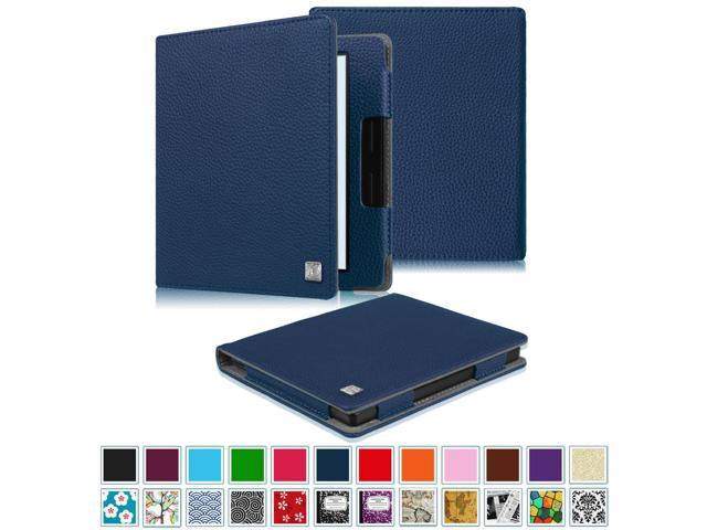 Fintie Folio Case for Kindle Oasis 8th Generation 2016 - The Book Style PU  Leather Cover with Auto Sleep/Wake, Navy - Newegg com