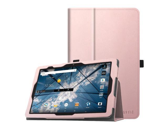 the best attitude d452d a1577 AT&T Primetime Tablet Case - Fintie PU Leather Folio Cover with Auto Wake /  Sleep Feature, Rose Gold - Newegg.com