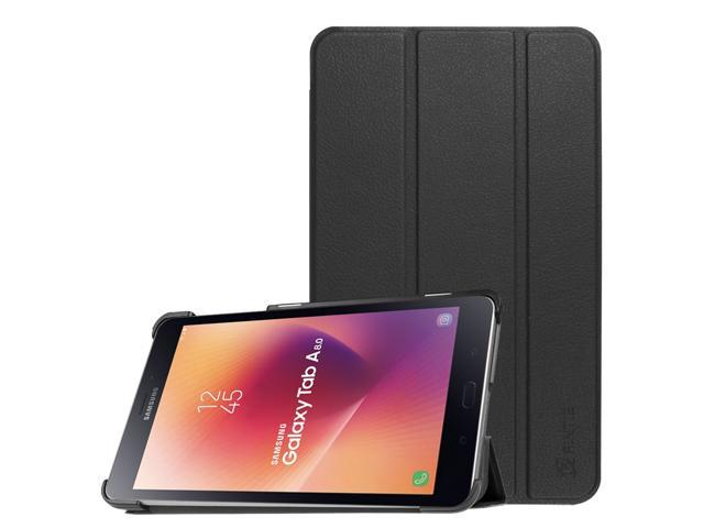 5f058f59f0bb Case for Samsung Galaxy Tab A 8.0 2017 SM-T380/T385 - PU Leather Slim Stand  Cover W/ Auto Sleep/Wake, Black - Newegg.com