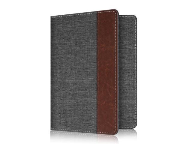 458a5feec7bb Fintie Passport Holder Travel Wallet RFID Blocking Case Cover - Securely  Holds Passport,Boarding Passes, Denim Charcoal - Newegg.com