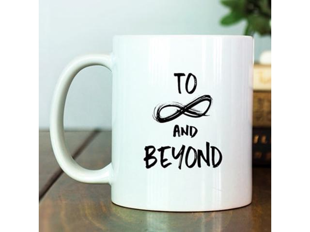 Disney Coffee Cup | Buzz Lightyear | To Infinity And Beyond | Toy Story  Quote |