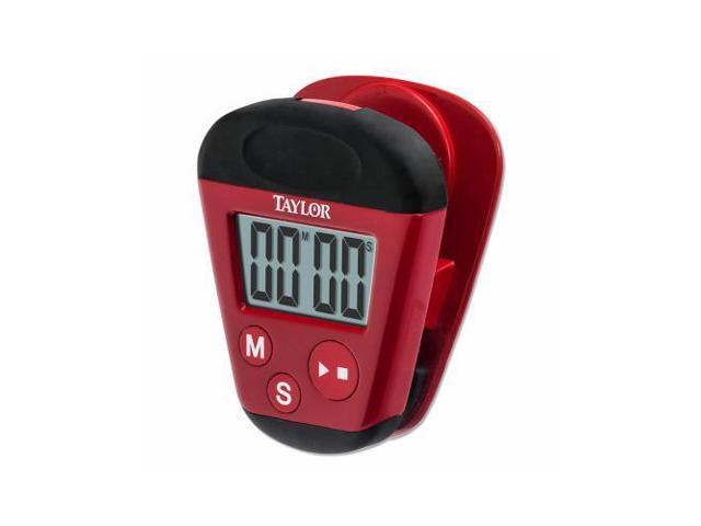 Taylor Precision Products 5875 RED Kitchen Clip Timer - Quantity 1
