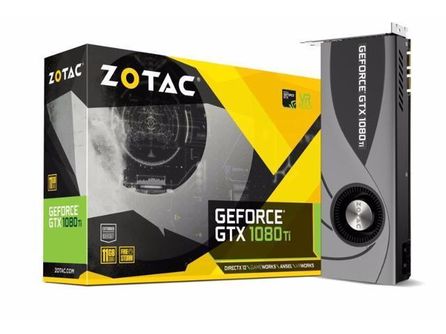 ZOTAC Blower GeForce GTX 1080 Ti 11GB GDDR5X PCI-E x16 3 0 Graphics Card -  Newegg ca