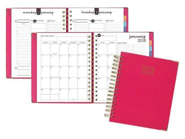 photo regarding Hardcover Daily Planner named At-A-Seem Stability Hardcover Every day-Month-to-month Planner - Working day Planners -