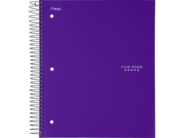 Five Star Wirebound College Ruled Notebook 5 Subject - Education  Organization - Newegg com