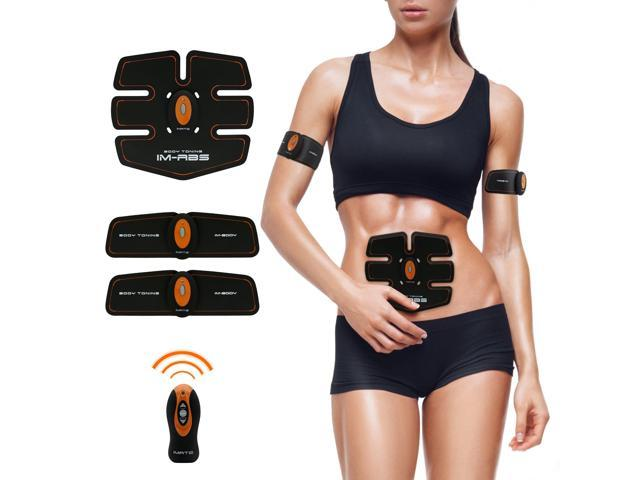 Abdominal Muscle Toner Abs Training Gear Body Fit Toning Belt Wireless  Muscle Exercise For Abdomen/
