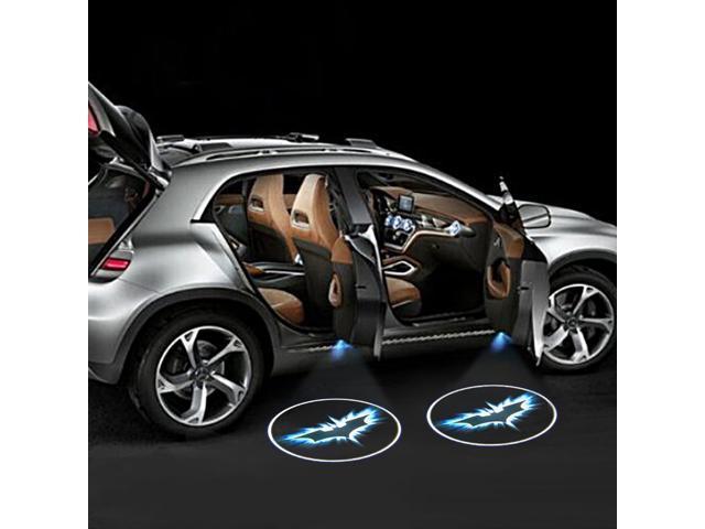 Wanmingtek Car Door Projector Lights 2 Pcs Wireless Led Car Lights With Magnet Sensor Auto Courtesy