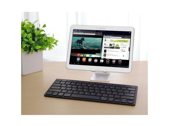 57f9cd9c2a7 Wanmingtek Bluetooth Keyboard, Universal Wireless Bluetooth Keyboard Ultra  Slim for Apple iOS iPad Pro,
