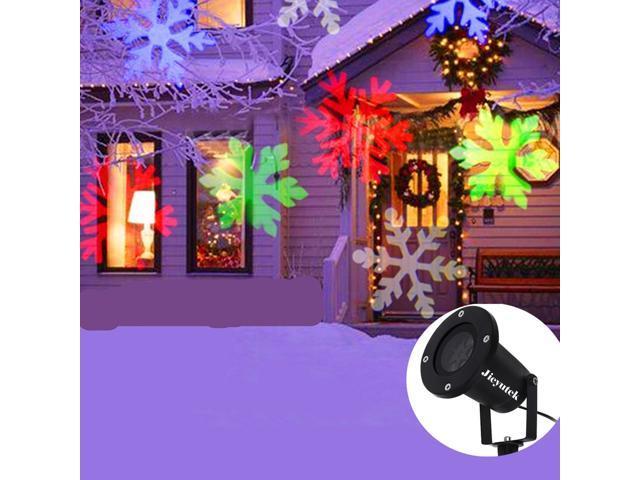148cbc2bd6f Copos de nieve impermeable Wanmingtek lámpara luz paisaje LED proyector  brillante para la decoración de Navidad