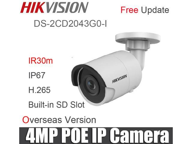 Hikvision DS-2CD2042WD-I 4MP IP Network POE Bullet Security Camera 4.0mm