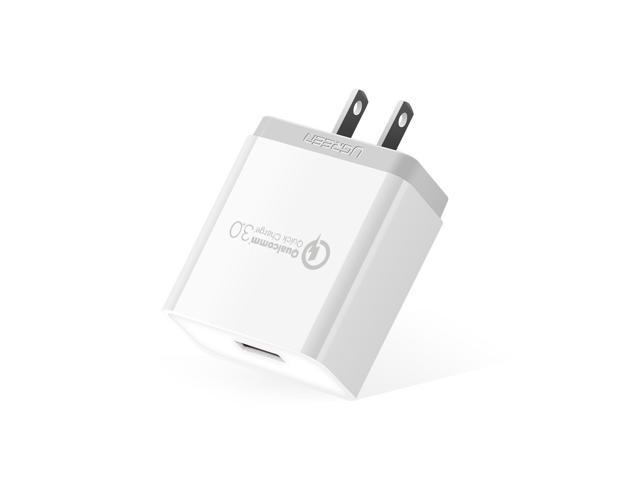 Wanmingtek Wall Charger 18W Quick Charge 3 0 (QC 2 0 Compatible) USB Smart  Charging Adapter for Galaxy S7/S6/Edge/Plus/Note 5/4/LG G4/HTC One