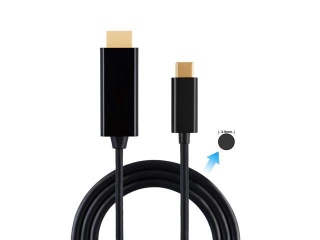 Thunderbolt 3 C 4K@60Hz USB C to HDMI Cable USB Type C to HDMI Cable 6FT//1.8M