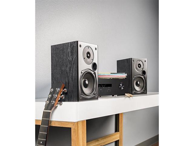 Polk Audio T15 BLACK 2 Way Bookshelf Speakers PAIR