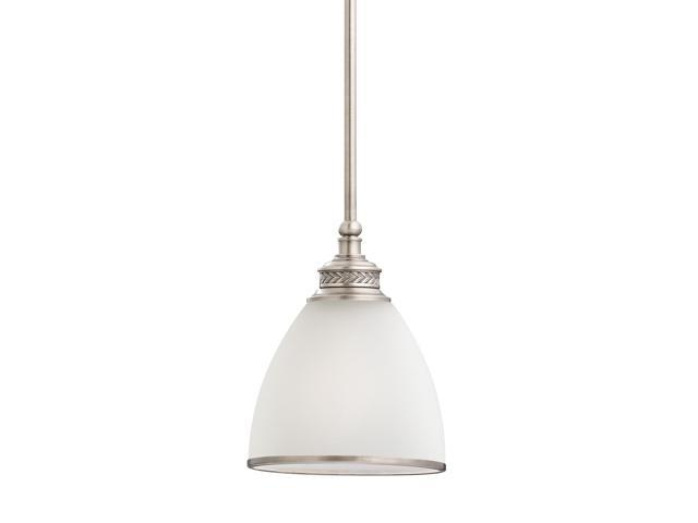 Sea Gull Lighting 44236 962 2 Light Brushed Nickel: Sea Gull Lighting One Light Mini-Pendant In Antique