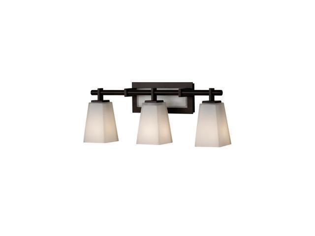 Beachcrest Home Gotha 3 Light Vanity Light Reviews: Feiss Clayton 3-Light Vanity Strip In Oil Rubbed Bronze
