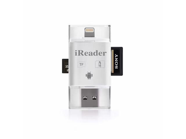 Micro USB OTG to USB 2.0 Adapter SD//Micro SD Card Reader with standard USB Male