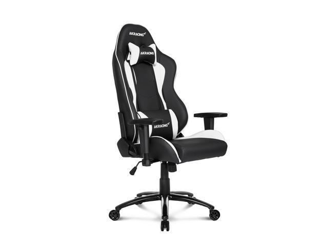 Terrific Akracing Nitro Series Premium Gaming Chair White Newegg Com Theyellowbook Wood Chair Design Ideas Theyellowbookinfo