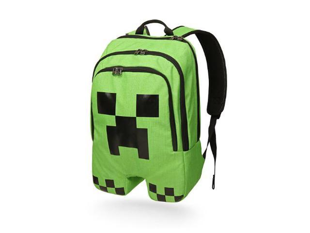76f7577486 Minecraft ThinkGeek Licensed Minecraft Creeper Backpack MC Game Children  Cartoon Schoolbag Pupils Shoulders Bag