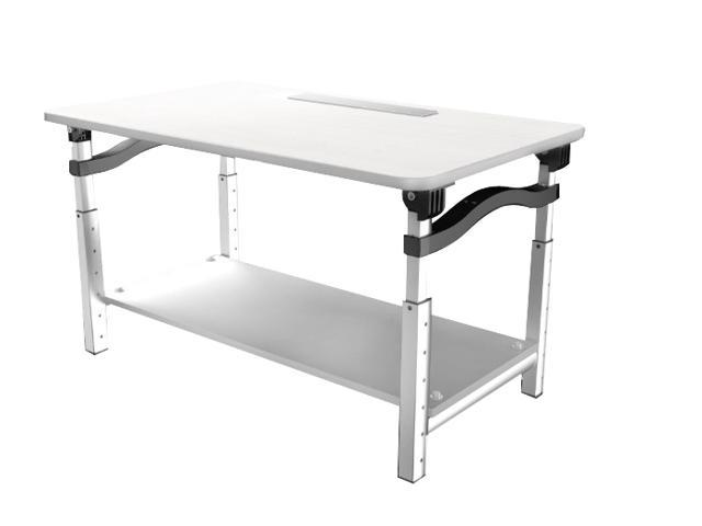 Lift Tall Sy Adjule Height Computer Monitor Stand For Sitting Standing Desk