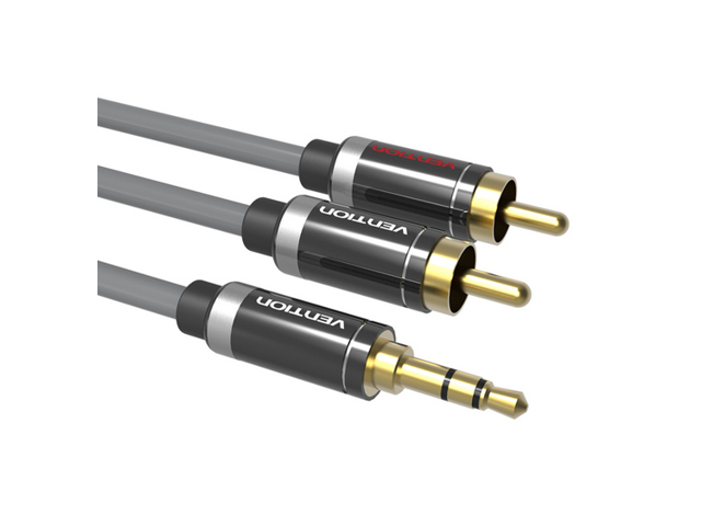 rca audio cable 2 rca to 3 5mm jack aux cable silver plated 2 DVD Player Home Theater rca audio cable 2 rca to 3 5mm jack aux cable silver plated 2 rca cable