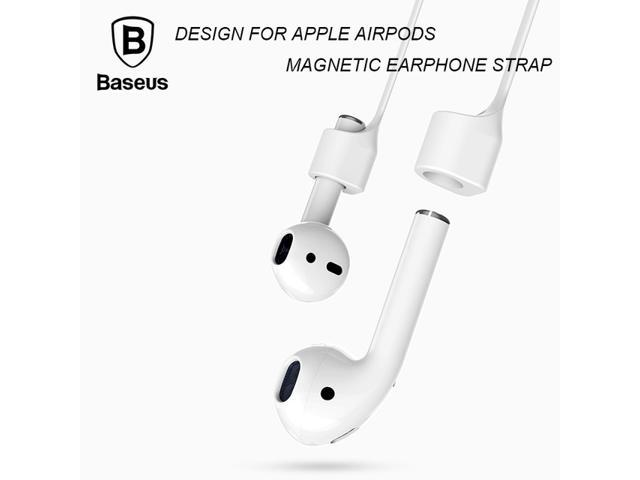 Baseus Magnetic Strap For Apple Airpods Bluetooth Earphone Silicone ...