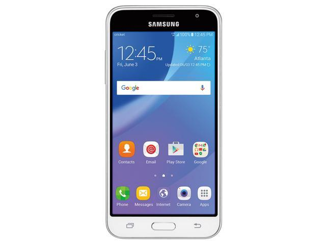 Samsung Galaxy J3 AMP Prime (J320AZ) - White, 16GB, 1 5GB RAM, 5 0-inch  LCD, Unlocked, Android 6 0, Non-Retail Packing - Newegg ca
