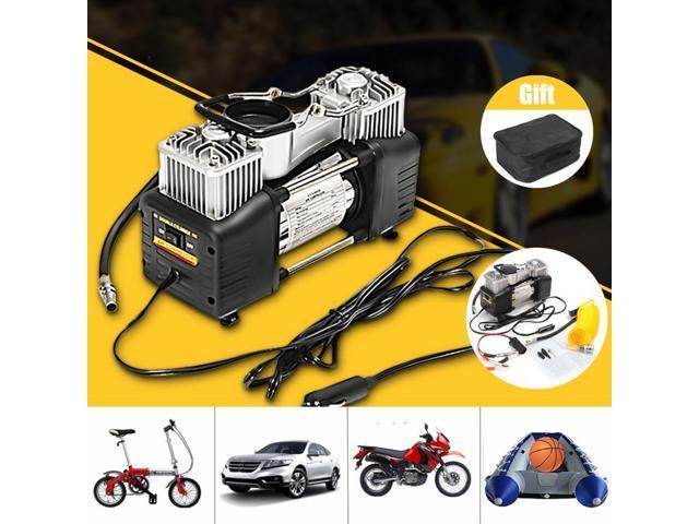 150psi 60l 12v Air Compressor 4wd Car Tire Inflator Portable Kit