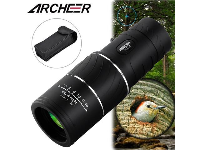 Archeer 16x52 dual focus optics monocular telescope 16x zoom