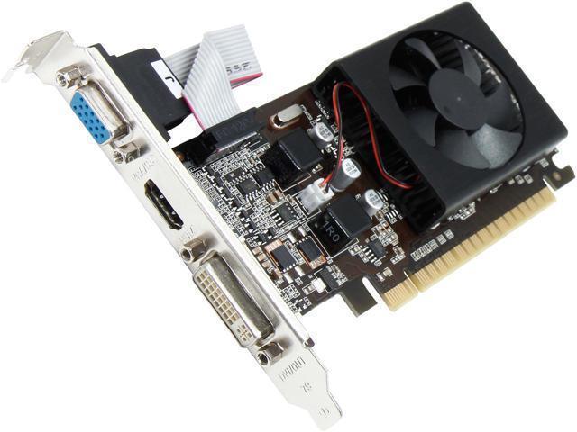 Refurbished: PNY GeForce GT 610 2GB DDR3 VCGGT6102XPB Video Card GPU -  Newegg com