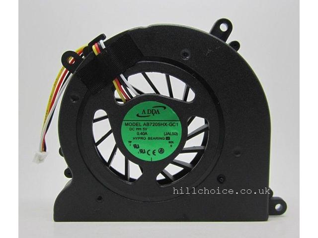 CPU Cooling Fan For Lenovo A300 A305 A310 A320 Laptop (4-PIN) AB7205HX-GC1  JAL50